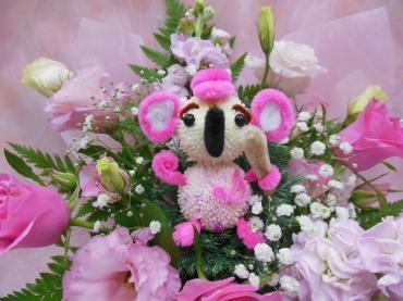 ピンクのコアラ
